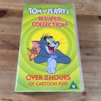 Tom And Jerry - Bumper Collection (VHS, 1999, 2-Tape Set, Animated, Double Pack)