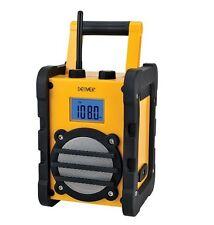 Baustellenradio Werkstattradio sehr robust mit AUX In Denver Radio WR-40