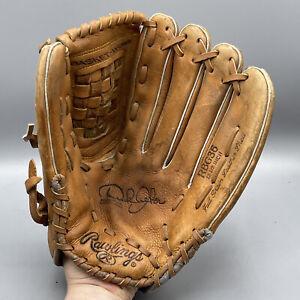 "Vintage Rawlings Baseball Glove RHT RBG 36 Derek Jeter 😎11"" Leather Basket Web"