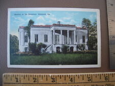 Postcard - Mansion at Hermitage - Savannah Georgia