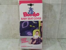 Bumbo Baby Seat Cover Purple Infant Feeding Chair New