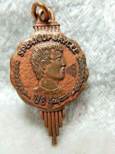 Speak Up Jaycee US Charm or Pendant Vintage