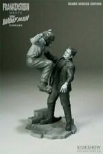 SIDESHOW FRANKENSTIEN VS THE WOLFMAN SSE DIORAMA UN FACTORY SEALED SHIPPER NEW