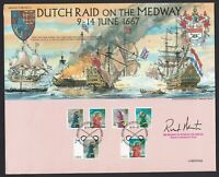Dutch Raid On The Medway 1667 2007 Cover Signed By Deputy Lieutenant of Kent