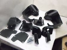 2009-2013 OEM Harley-Davidson Touring Vented Fairing Lowers Vivid Black