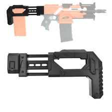 AK Blaster MOD Tactical Storage Fixed Butt Stock Black for Nerf Modified Toy