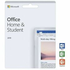 Microsoft Office 2019 Home And Student Lifetime (Windows Only) - Genuine