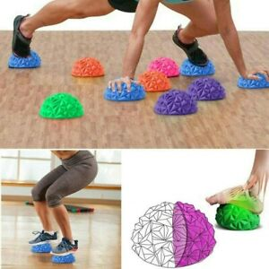 Foot Balance Spiky Ball Massager Exercise Yoga Stress Relief Hand Muscle Fitness
