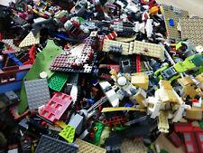 NINJAGO 1KG (850PC'S!) LEGO CREATIVITY PACKS BULK + 3 FIGS, STICKERS & FREE TOOL