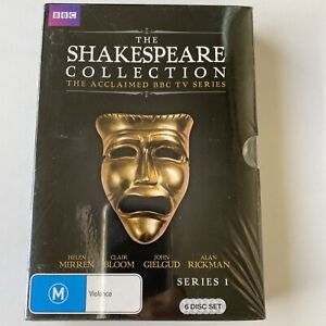 Shakespeare Collection : Complete Series 1 (DVD) Aust Region 4- NEW SEALED RARE