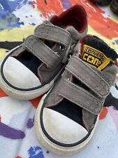 Toddler Grey Converse Size 5
