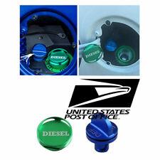 Aluminum Diesel Fuel Cap+DEF Oil Cap for Dodge RAM Truck 1500 2500 3500 2013-18#