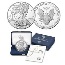 2021-W American Eagle One Ounce Silver Proof Coins (21Ea)