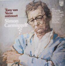 TONY VAN VERRE ONTMOET SIMON CARMIGGELT - LP