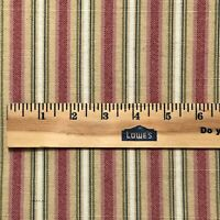 Raymond Waites Mill Creek Decor Fabric 8 Yds Striped Canvas Upholstery
