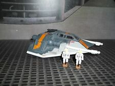 STAR WARS ACTION FLEET SERIES ROGUE SQUADRON BLACK VARIANT SNOWSPEEDER