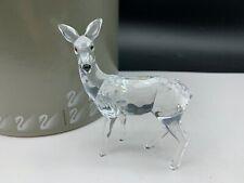 Swarovski Figurine 247963 Deer Mother's 3 11/16in Boxed & Zertifikat. Top State