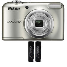 Nikon Coolpix A10 16.1 MP, 5x Optical Zoom Compact Digital Camera - (Silver)