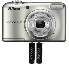 Nikon Coolpix A10 16.1 MP, 5x Optical Zoom Compact Digital Camera - (Silver)