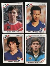 4 WM 1986 Panini World Cup 86 Mexico Stickers No Doubles FIFA