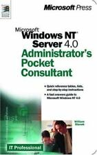 Microsoft Windows NT Server 4.0 Administrator's Pocket Consultant (Independent
