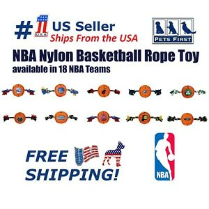 Pets First NBA Dog / Cats Basketball Toy, Durable, Heavy Duty, Tough Dog Toy