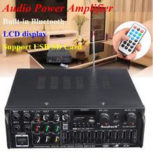 Auto Verstärker Bluetooth StereoVollverstärker Audio Endstufe EU Adapter 2000W