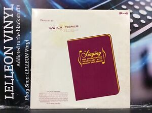 Watchtower Bible And Tract LP Album Vinyl Record PS-4 Religion World 60's
