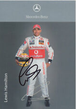 Lewis Hamilton - Signed Official 4X6 inches F1 2009 Photo Card