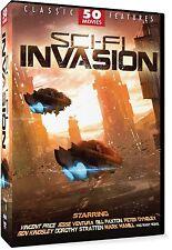 SCI-FI INVASION: 50 MOVIE SET - DVD - Sealed Region 1