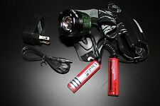 Rechargeable LED Head Torch – Free Postage