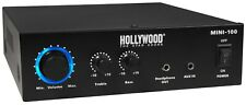 100W Kompakt Verstärker Amplifier Cinch AUX DJ PA Party Musik Equipment Endstufe