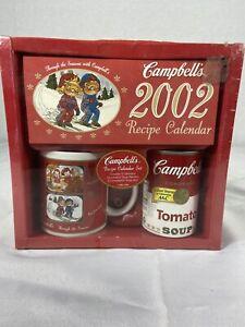 Campbell's 2002 Recipe Calendar Gift Set