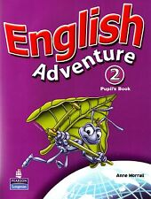 Longman ENGLISH ADVENTURE 2 Pupil's Book with Picture Cards by Anne Worrall @NEW