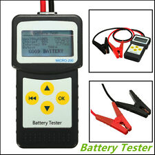 Car Battery Load Tester 30-200Ah Vehicle Battery Analyzer AGM CCA GEL MICRO200