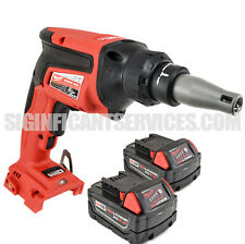 Milwaukee 2866-20 M18 Drywall FUEL Brushless Screw Gun 5.0Ah Extended Capacity