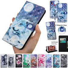 For Samsung Galaxy A10S A30S A50S A70S 3D Pattern Flip Leather Wallet Case Cover