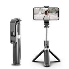 Bluetooth Skalierbarer Selfie Stick Verlängerung Stange Mit Stativ Handy Halter