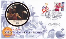"1998 Commonwealth Games - Benham ""Special"" - Signed by COURTNEY FRY"