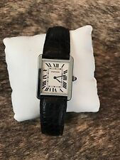 Cartier Tank Solo Stainless Steel Watch (BOX w/ PAPERS)