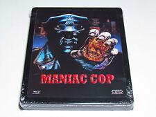 MANIAC COP Blu-Ray Metalpak (Steelbook) LENTICULAR LIMITED EDITION IMPORT NEW