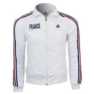 Genuine Adidas Women's France Track Top/ Jacket (O58944)