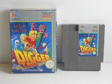 Digger T.Rock für Nintendo NES in OVP