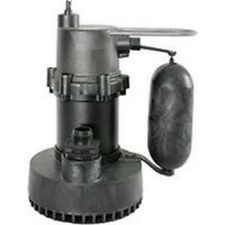 NEW LITTLE GIANT 505700 1/4 HP AUTOMATIC SUBMERSIBLE SUMP PUMP 10 GPM