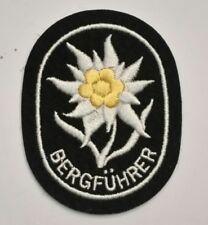 Edelweiss de bras brodée officier de troupe de montagne Gebirgsjäger - REPRO