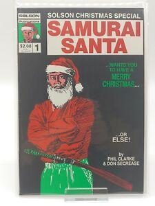 Samurai Santa #1 JIM LEE 1st ART! HIGH GRADE 9.2-9.4 Solson Publications