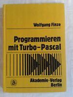 Programmieren mit Turbo-Pascal, DDR-Fachbuch 1989
