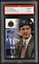 1998 Peyton Payton Manning Pinnacle Mint Rookie 1st Graded 10 Colts RC Card GOAT