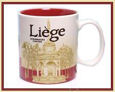 ▓ Starbucks LIEGE City Mug * Belgium Lüttich Tasse 16oz NEW * FREE SHIPPING ▓