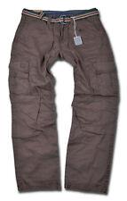 TIMEZONE Herren Cargo Hose Benito Braun Cargohose Outdoor 6051 Herrenhose Jeans